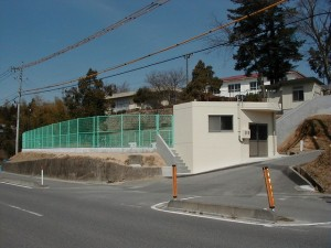 中田小学校プール改良工事